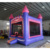 Commercial purple and pink Inflatable Bouncy House for girls