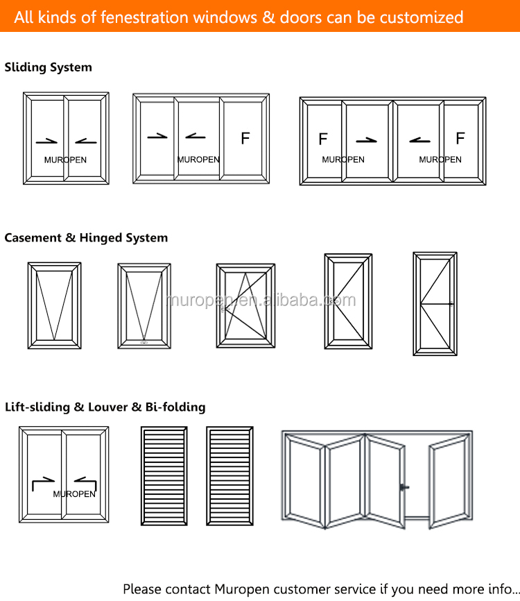 Aluminum sliding bi folding door  price door malaysia sensor price bifold door with internal blind