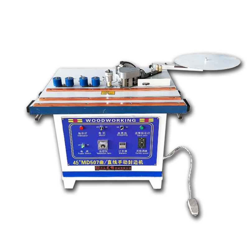 Md607 Pvc Wood Machinery Hot Glue Manual Edge Bander Machine - Buy