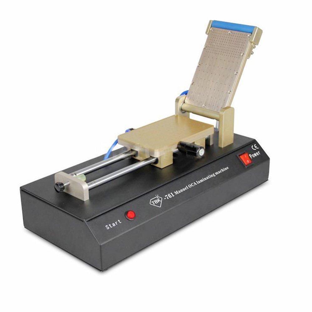 Get Quotations · Manual OCA Glass Film Laminating Machine Built-in Vacuum  Pump Compressor DL