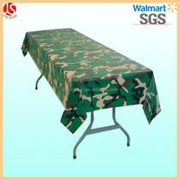 Eco disposable polyethylene Dollar General table cloth/tablecover from China supplier