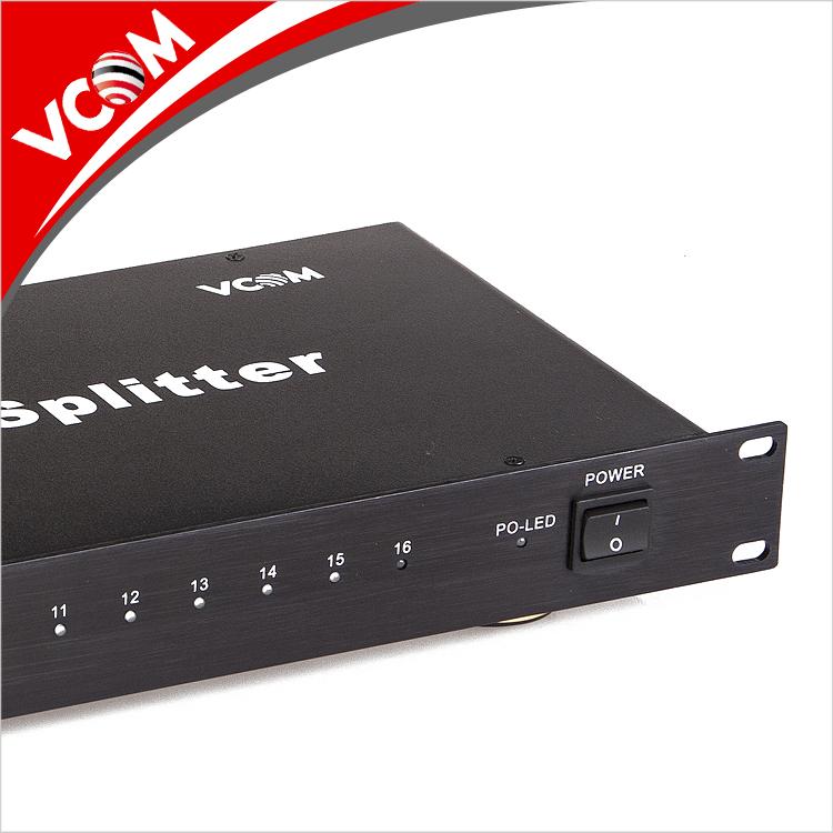 מפעל במהירות גבוהה HDMI ספליטר 1x16 תמיכה 1.4 v מלא HD 3D 1080 p