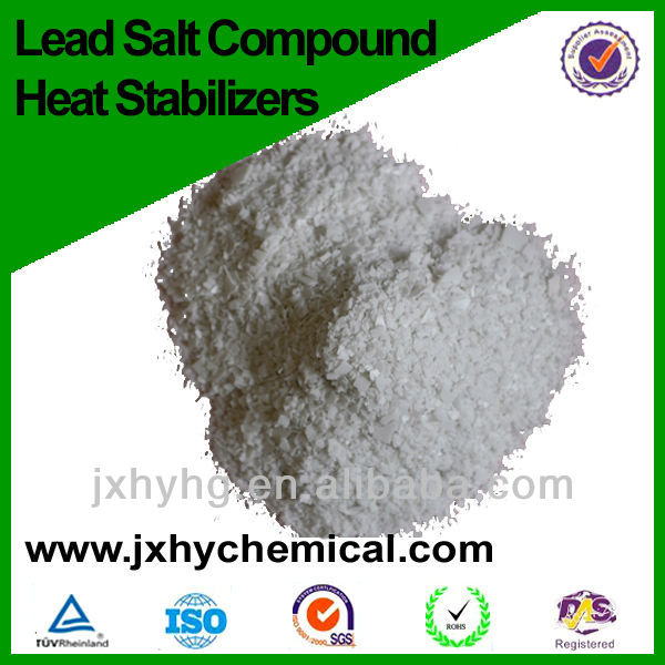 PVC pipes special Lead salt compound heat stabilizer ( dust-free)
