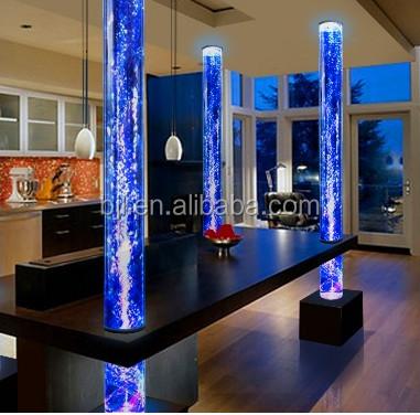 Decoracion de pilares interiores perfect interiores abiertos sin pilares que entorpezcan el - Columnas decoracion interiores ...