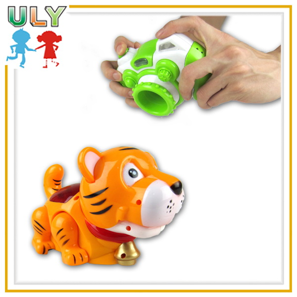 HOT Intelligence toys Funny camera and tiger learning toys with cards