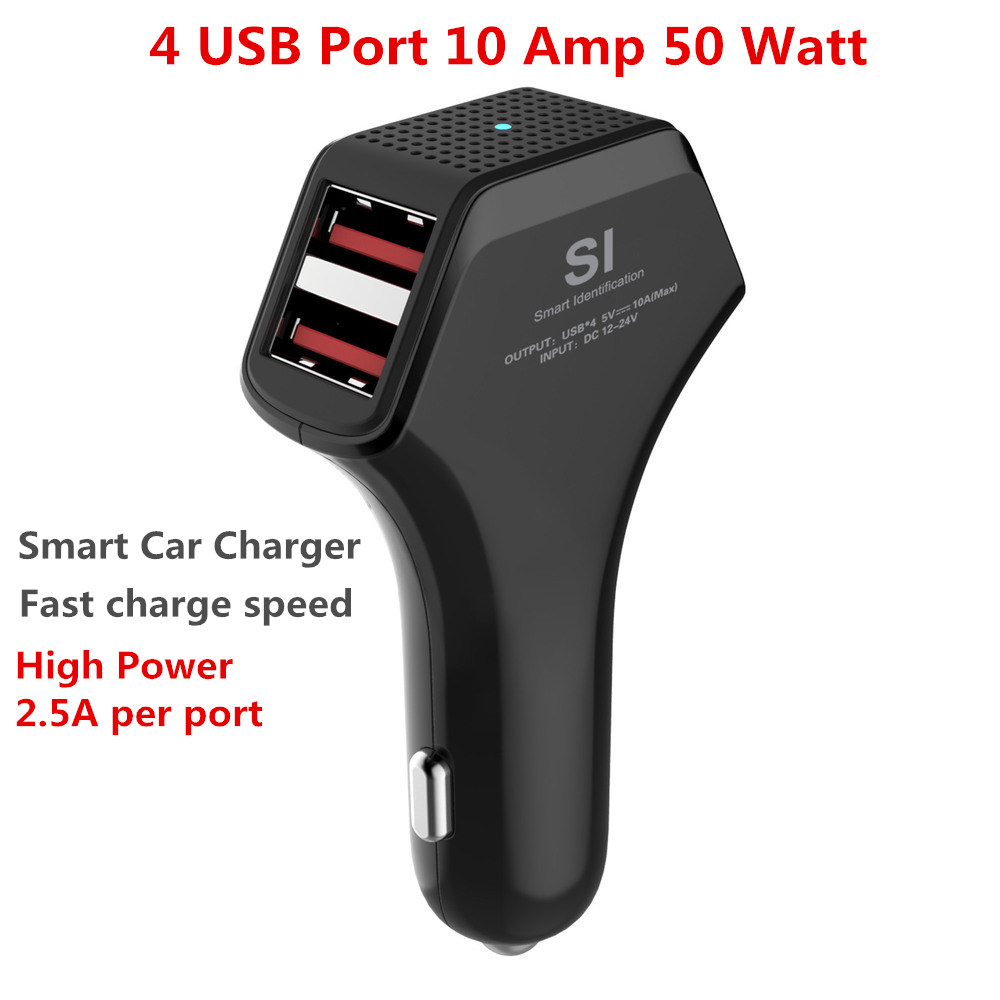 Aliexpress.com : Buy 4 Port USB Fast Car Charger Adapter