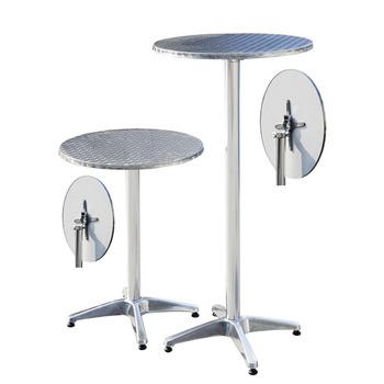 Sedie In Alluminio Per Bar Usate.Regolabile Rotonda In Alluminio Tavolo Bar Con Due Altezza Opzione Tavoli E Sedie Da Bar Usato Buy Tavoli E Sedie Da Bar Usato Alluminio Tavolo