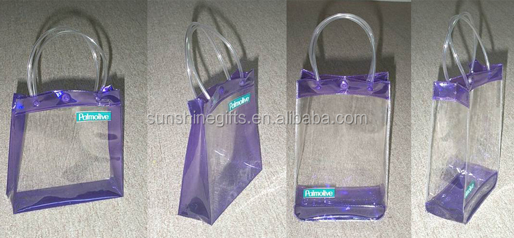 Factory Custom Clear PVC Bag Tote