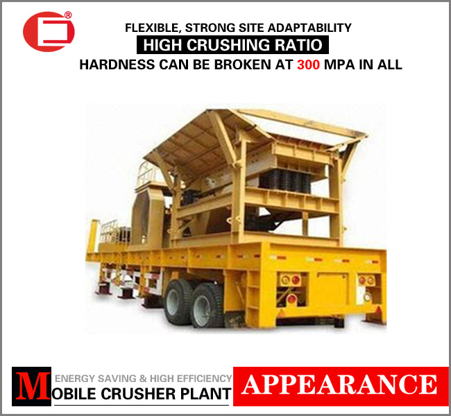 Low price small mobile aggregates crusher plant from Henan suppliers