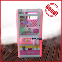 coin operated cabinet slot machine plush toy cheap toy crane machine
