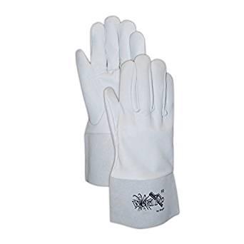 Magid Glove & Safety 1292-9 Grey Soft Goatskin, Keystone Thumb Magid WeldPro 1292, 42x34, Gray, 9 (Pack of 12)