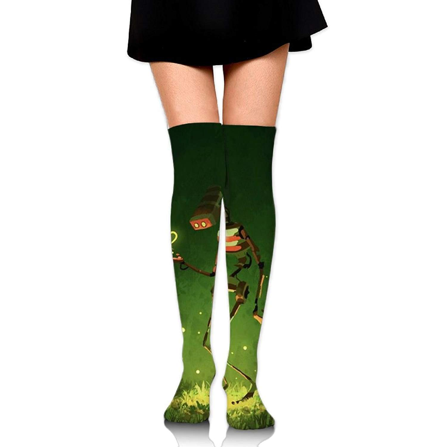Zaqxsw Robot Women Cool Thigh High Socks Long Socks For Womens