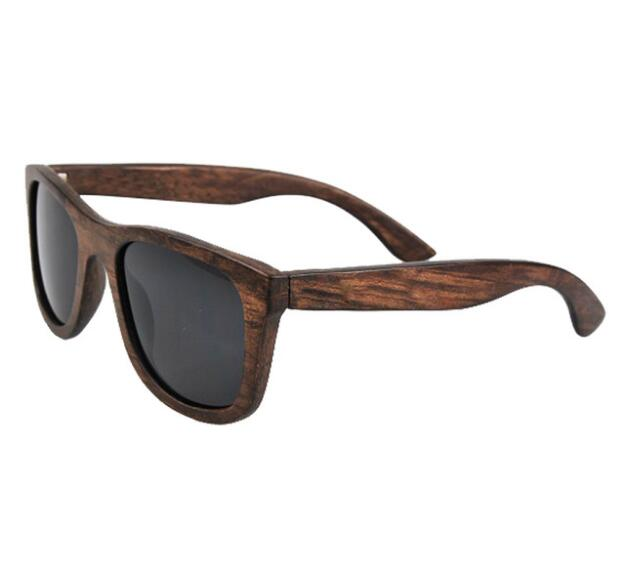 Hot selling 2018 new bamboo sunglasses men women fashion sunglasses handmade wooden sunglasses
