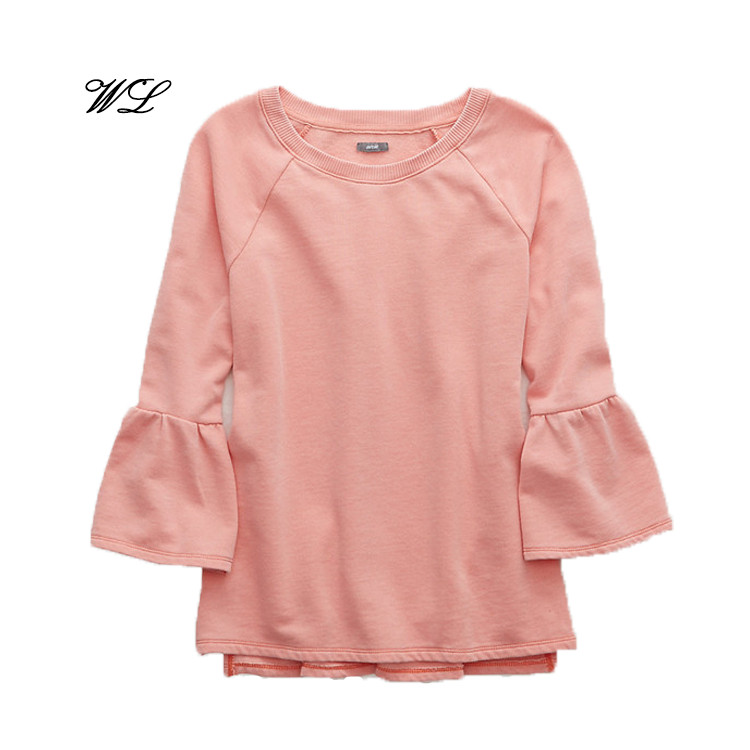 China Supplier, Woman Fashionable Long-sleeved T-shirts