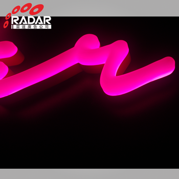 amazing pink neon rainbow light waterproof for signs buy creative