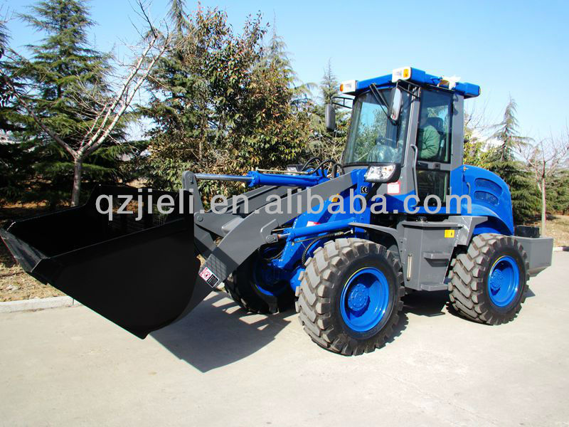 4WD,Automatic transmission,joystick,quick hitch ZL16D wheel loader