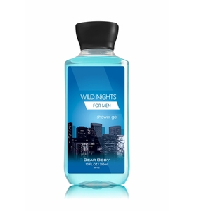 Bath and skin care SPA WORK men shower gel body wash with charming scent