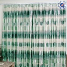 luxury 2016 America style 100% polyester printing blackout window curtain fabric