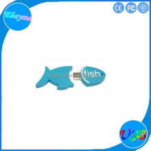 Multi function pen drive 8GB 16GB fish memory chip design usb flash drive