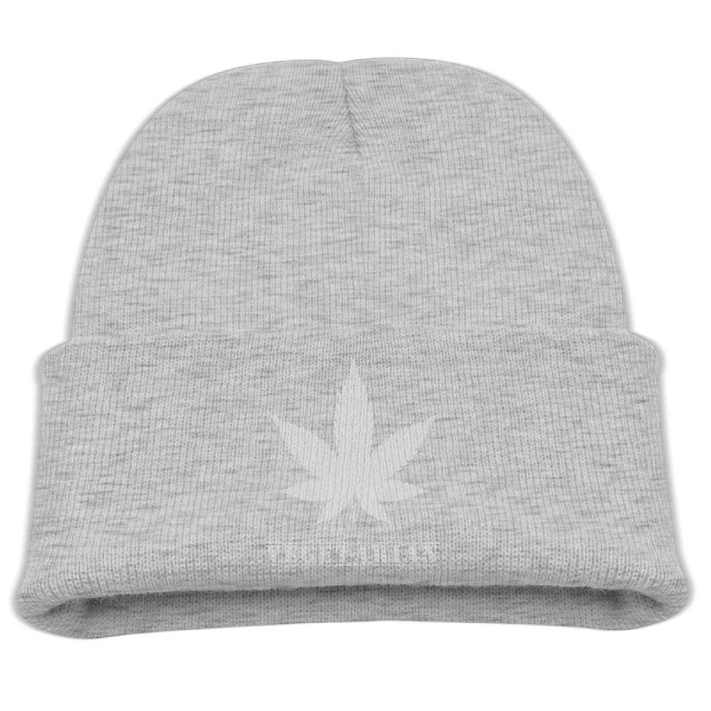 super popular bd107 413a8 Get Quotations · Weed Dope Vegetarian Unisex Kids Warm Winter Hat Knit  Beanie Skull Cap Cuff Beanie Hat Winter
