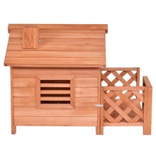 Wholesale High quality cheap price outdoor indoor wooden dog kennel