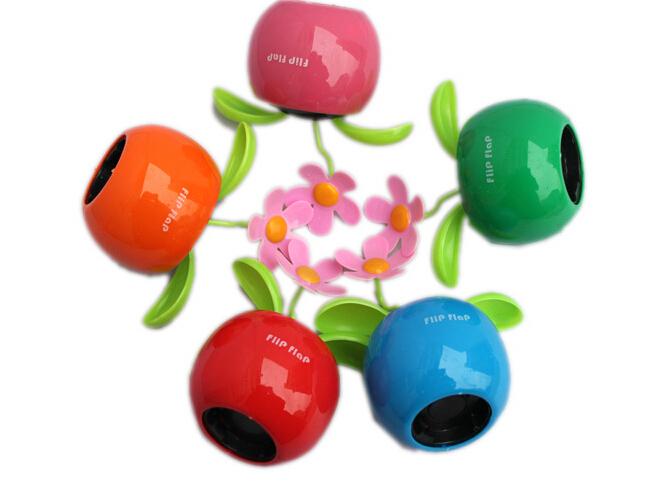 c83b86c6a13e96 Get Quotations · New Arrive Solar Powered Flip Flap Flower Cool Car Dancing  Toys Wholesale M113