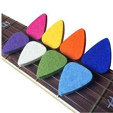 Feltro Picks, Mudder Plettri Plectrums per Ukulele, Multi-color