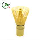Hand-made Japanese Matcha Whisk Chasen 100 Prongs White Bamboo