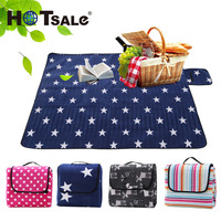 Baby Star Crawling Pad Camping Picnic Blanket Waterproof Outdoor Beach Mat
