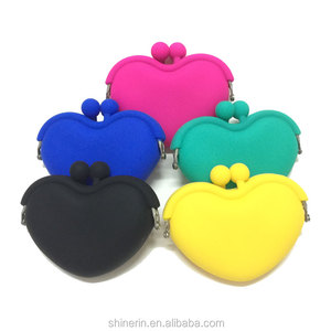 Cheap Wholesale Creative Candy Jelly Silicone Change Coin Purse Women Wallet