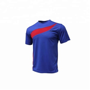 Wholesale blue football uniform 2018 soccer world cup jersey