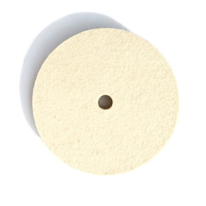 Wool Polishing Wheel with Yellow Nylon Backed for Car Polishing