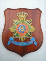 NETHERLANDS WALL PLAQUE, SHIPS CREST SHIELD.