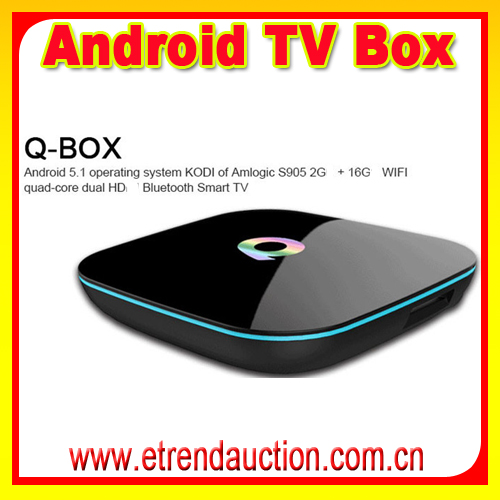 Hot Selling New Arrival q box ott firmware Android TV Box Customized Functional 1080p Output KODI HD Android TV Box
