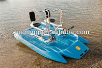 xueming water bike for entertainment/water boats for two person