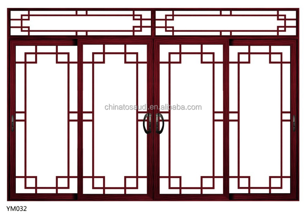 French windows with grill images for French window design