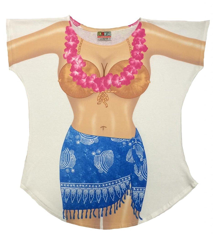 Bikini tee shirt