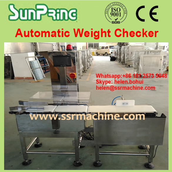 Combined Digital Metal Detecting device and Automatic Check Weigher food industrial metal detector