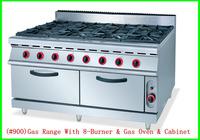 6 burner&8 burner Viking Gas Cooking Range in Pakistan and China manufacturer