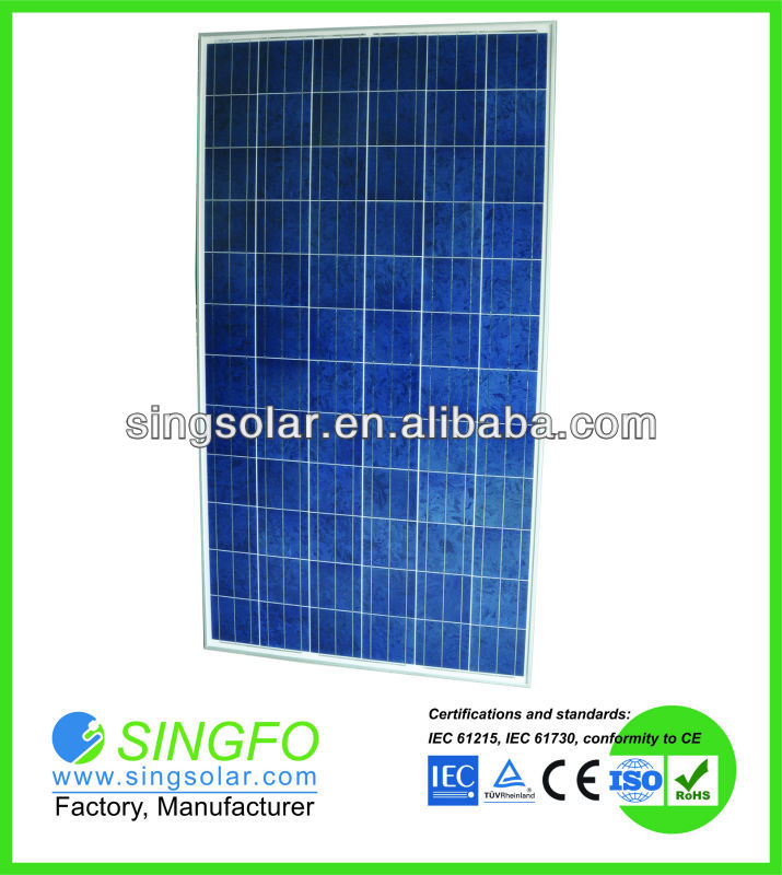 solar cell 156mm 280W Solar Panel 24kg/piece