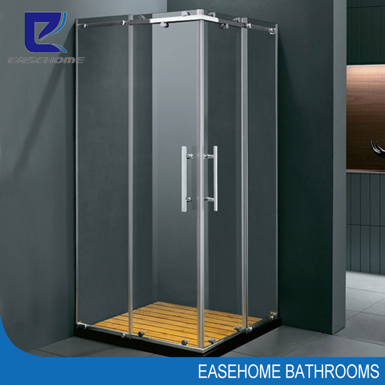 Tempered Glass Sliding Stainless Steel Shower Stall - Buy Tempered ...