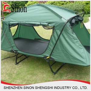 smart tent off ground tent above ground rainfly bed outdoor folding camping bed tent