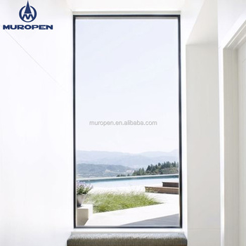Decorated Aluminum Frame Gl Fixed Window With Heat Insulating