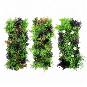 new ideas customized artificial plant leaves for home walls decoration
