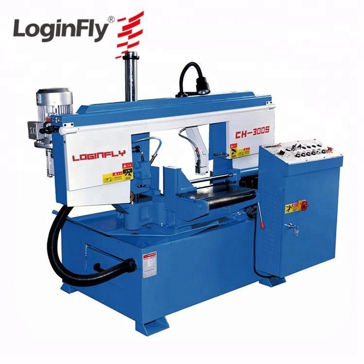 Amada Loginfly Brand High Quality Semi-automatic 60 Degree Angle Cut Band  Sawing Machine - Buy Angle Cutting Band Saw Machine,Band Saw Cutting