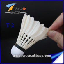 high quality class A goose feather badminton shuttlecock