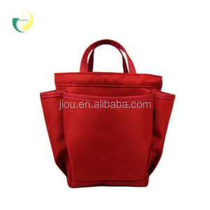 fashion cute red polyester designer handbag