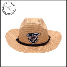 customized foldable panama straw hat
