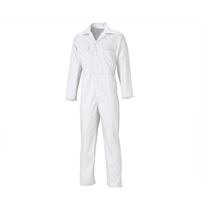 Overall uniform design womens schilders 100% katoen wit overall
