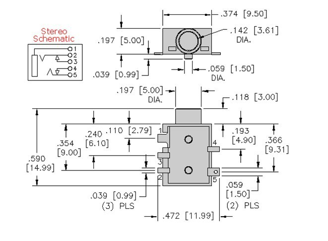 3 5mm 1 8 Jack Wiring 3.5 Mm Stereo Jack Wiring Diagram ...  Pole Mm Jack Wiring Diagram on